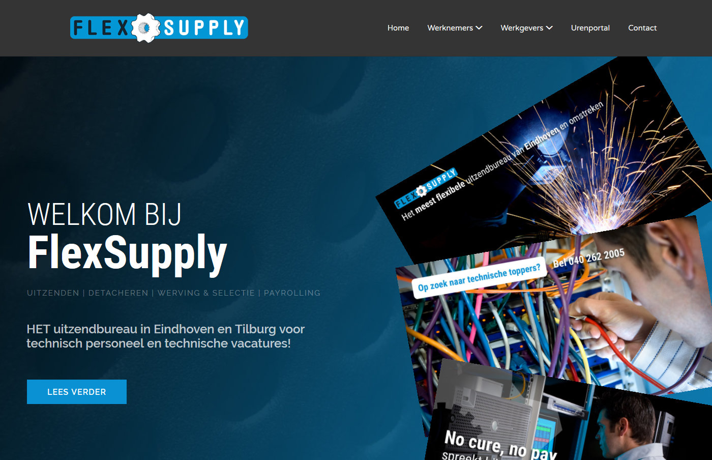 Flexsupply homepage