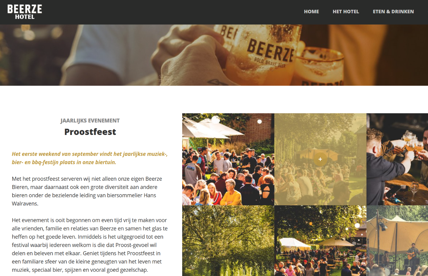 Beerze-Hotel-website